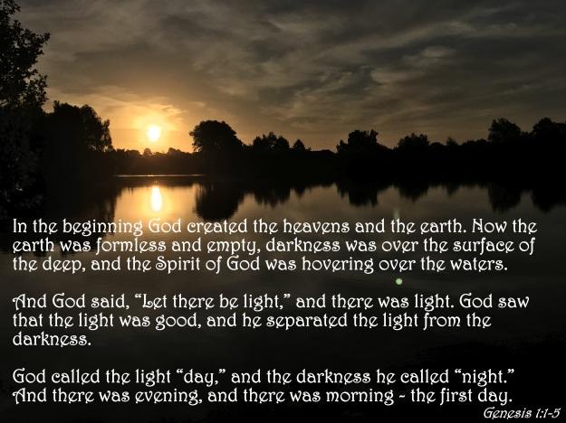 Genesis 1:1-5