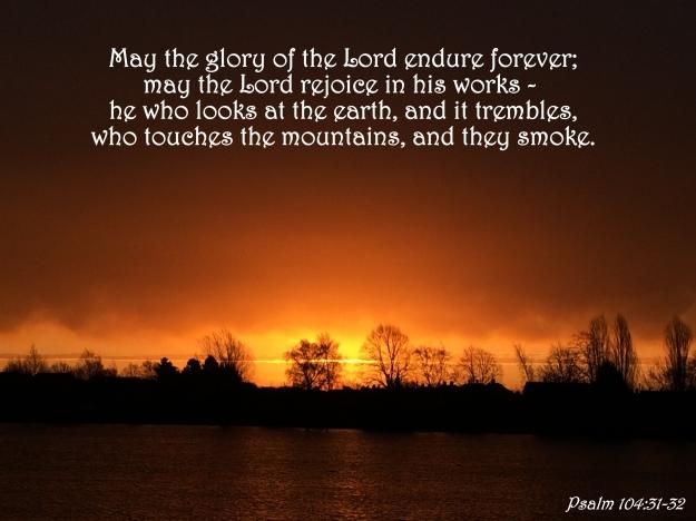 Psalm 104:31-32