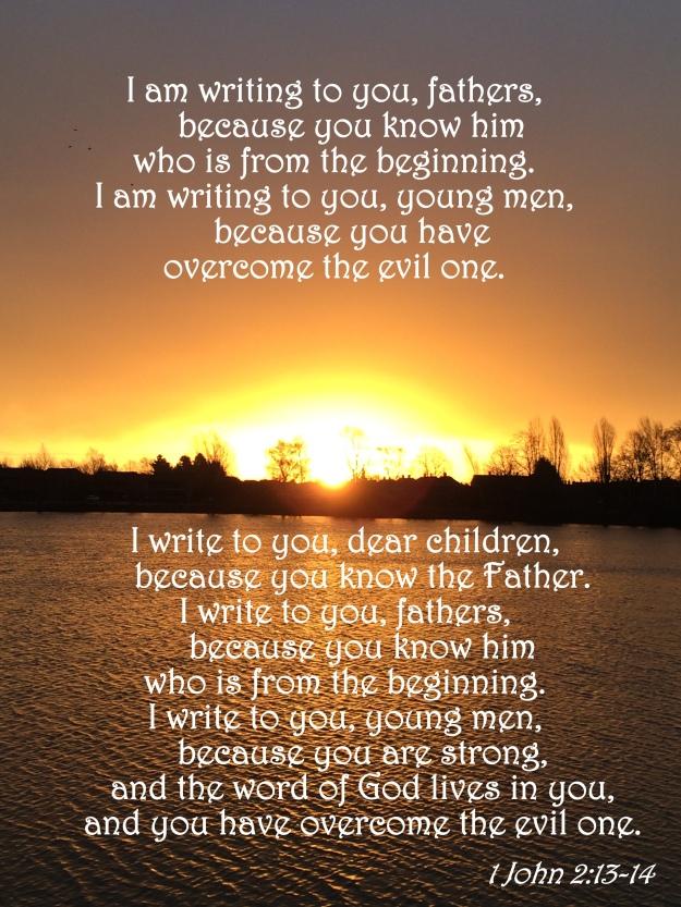 1 John 2:13-14