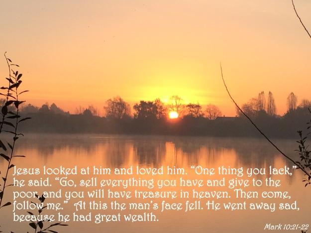 Mark 10:21-22