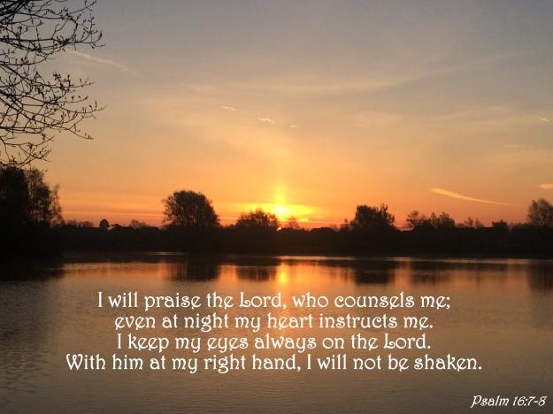 Psalm 16:7-8